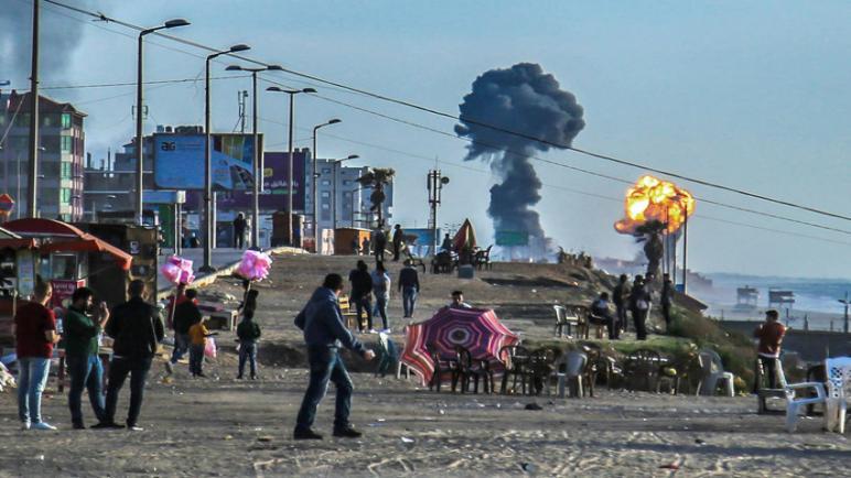 نتنياهو يعلن عن حشد عسكري و تنفيذ هجمات واسعة النطاق على قطاع غزة
