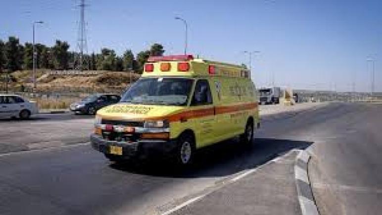 اصابة إسرائيلي بجروح بعد تعرضه للطعن في الوجه قرب مستوطنة في الضفة الغربية