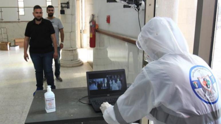 البعثة الأوروبية لمساعدة الحدود تتبرع للادارة العامة الفلسطينية للحدود والمعابر بنظام تصوير حراري لكشف الحمى