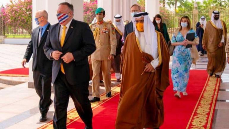 الإعلان عن تطبيع العلاقات بين البحرين والكيان الإسرائيلي بوساطة ترامب