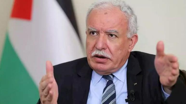 الكيان الإسرائيلي يسحب تصريح سفر وزير الخارجية الفلسطيني بعد زيارته لمحكمة الجنايات الدولية في لاهاي