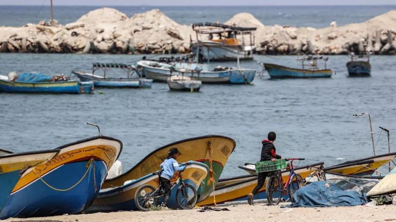 الكيان الإسرائيلي يغلق منطقة الصيد بالكامل في قطاع غزة المحاصر