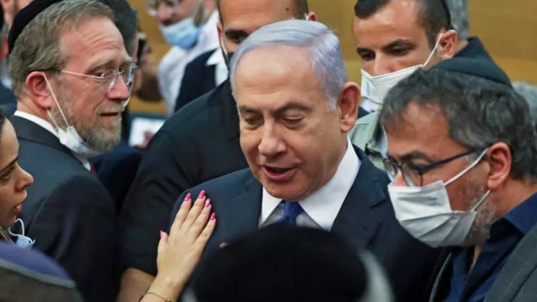 نتنياهو يحاول احداث انشقاق في الإئتلاف الحكومي الجديد قبل التصويت على الثقة في البرلمان