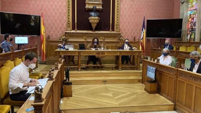 مجلس مدينة مايوركا الإسبانية يوافق على مبادرة لإدانة الهجمات الإسرائيلية على فلسطين