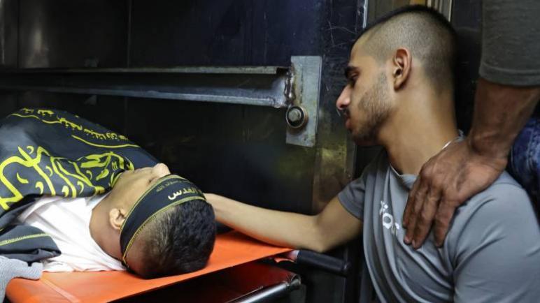 استشهاد أربعة فلسطينيين في غارات للكيان الإسرائيلي على الضفة الغربية المحتلة