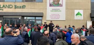 وقفة احتجاجية في الدنمارك في الذكرى الـ101 لتصريح بلفور
