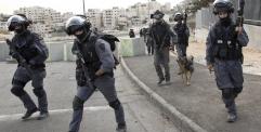 اصابة امرأة فلسطينية بجروح جراء اطلاق النار عليها بعد محاولة الهجوم على الشرطة الإسرائيلية