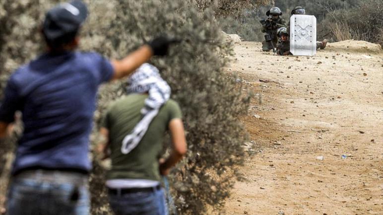 استشهاد الشاب الفلسطيني محمد التميمي برصاص الجيش الإسرائيلي في الضفة الغربية المحتلة