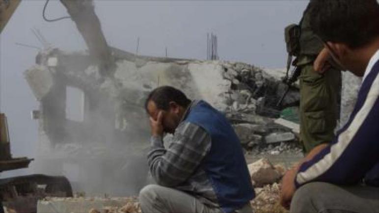 الكيان الإسرائيلي قام بتدمير أو مصادرة 617 مبنى فلسطيني في الضفة الغربية في العام 2019