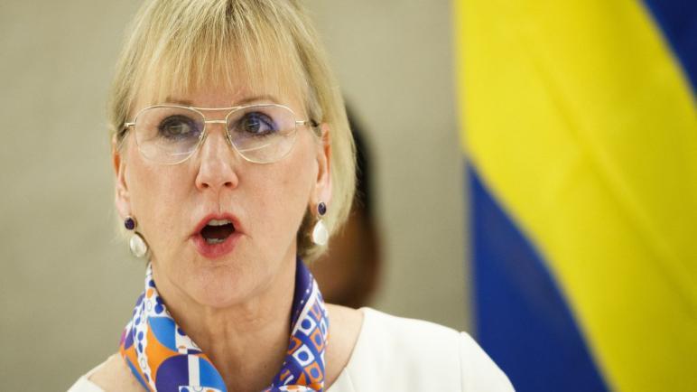 وزيرة الخارجية السويدية ترفض نقل السفارة إلى القدس ردا على اقتراح الليبراليين