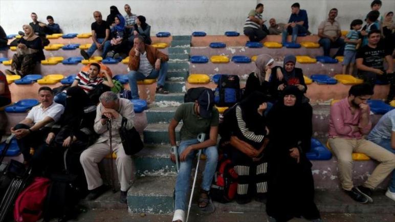 الكيان الإسرائيلي المحتل يشجع سكان غزة على الهجرة وحتى يعرض استعداده لتحمل التكاليف