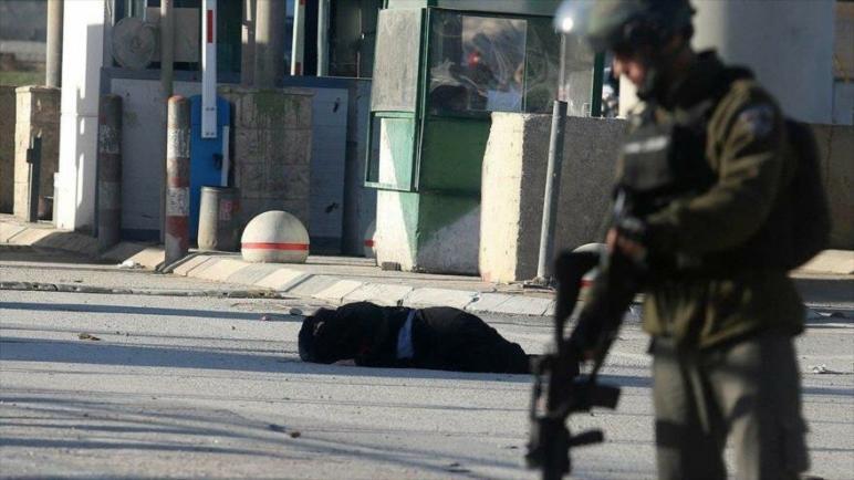 استشهاد شاب فلسطيني واصابة اثنين آخرين بجروح بنيران القوات الإسرائيلية في مخيم قلنديا بالضفة الغربية