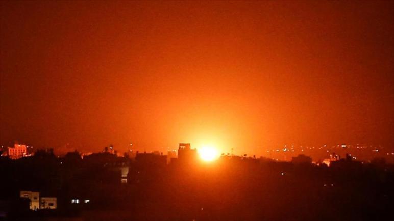 الكيان الإسرائيلي يهاجم قطاع غزة بالدبابات والمدافع والطائرات المقاتلة
