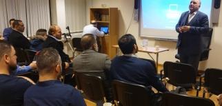 مركز العدالة الفلسطيني في السويد يستضيف الاستاذ ماجد الزير رئيس مؤتمر فلسطينيي أوروبا ضمن التحضيرات لعقد مؤتمر باريس