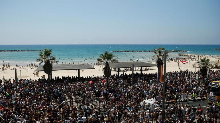 الكيان الإسرائيلي يحتضن أكبر مسيرة للمثليين في الشرق الأوسط