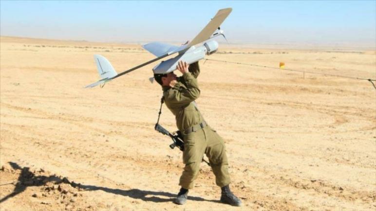 المقاومة الفلسطينية تسقط طائرة تجسس بدون طيان للكيان الإسرائيلي في قطاع غزة