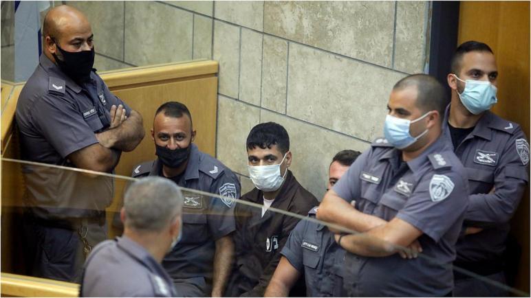 محكمة إسرائيلية تمدد اعتقال الأسرى الأربعة المعاد اعتقالهم بتهمة الهروب من السجن والتخطيط لشن هجمات