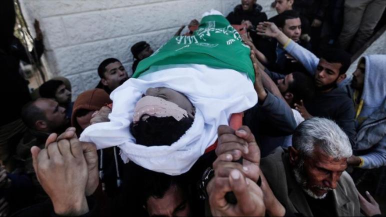 استشهاد شاب فلسطيني بنيران قوات الكيان الإسرائيلي في الضفة الغربية