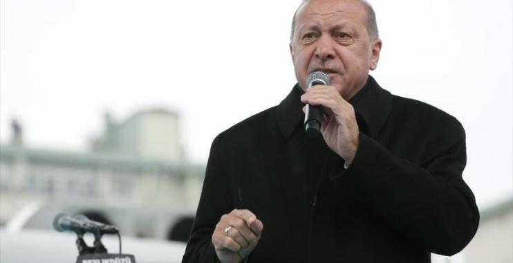 الرئيس التركي أردوغان لنتياهو: أنت طاغية تقتل الأطفال الفلسطينيين