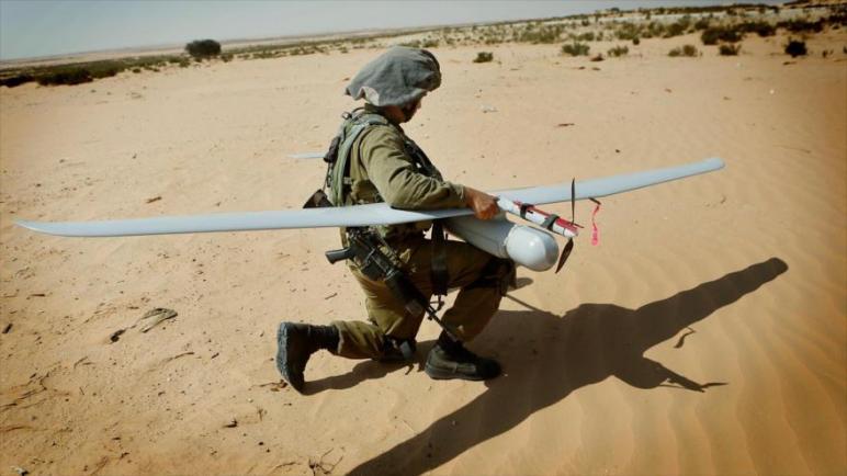 تحطم طائرة بدون طيار للكيان الإسرائيلي بالتزامن مع مناورات لفصائل المقاومة الفلسطينية