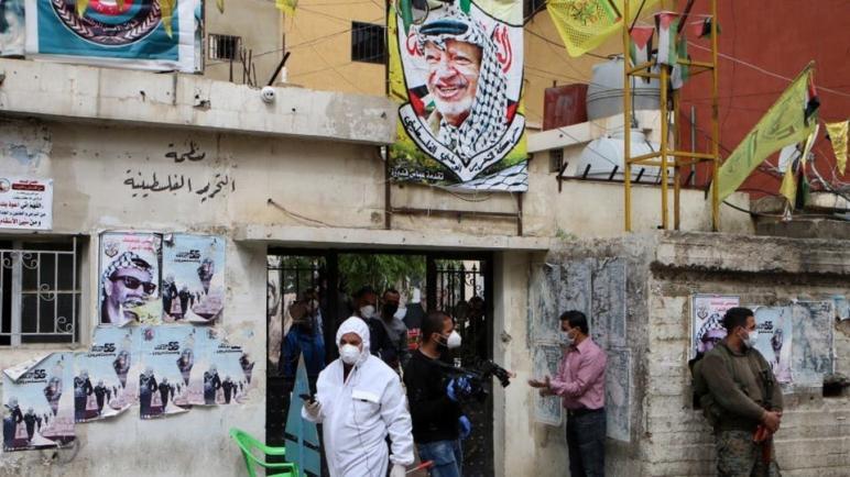 أربع وفياة جديدة بفيروس كورونا في مخيمات اللاجئين الفلسطينيين في لبنان