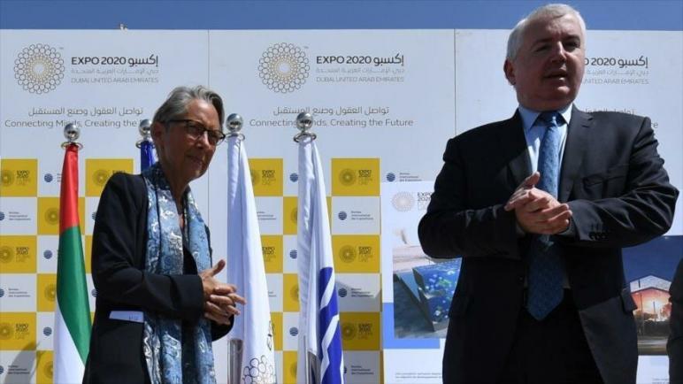 الإمارات العربية المتحدة تدعو الكيان الإسرائيلي رسميًا لحضور معرض إكسبو 2020