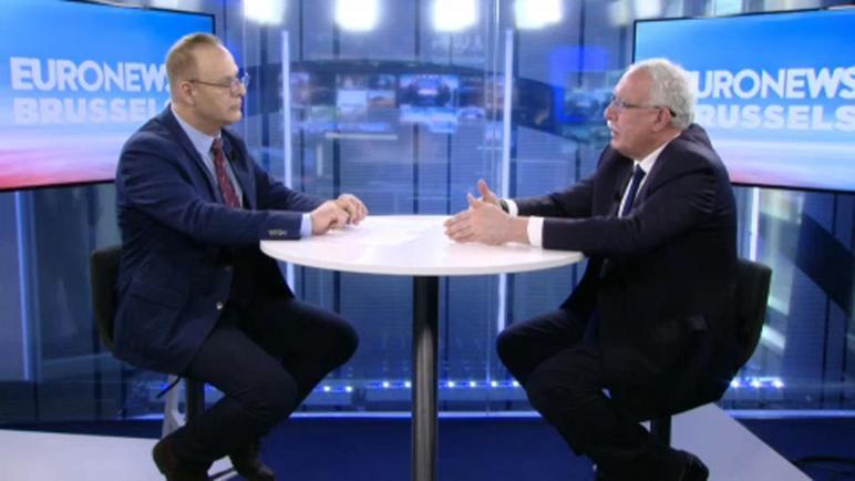 """وزير الخارجية الفلسطيني: الإتحاد الأوروبي يريد وضع خطة لمواجهة صفقة القرن لكن ليس لديه الشجاعة للضغط على """"إسرائيل"""""""