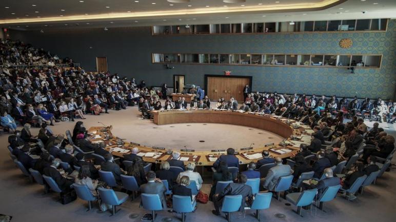 الاتحاد الأوروبي يصدر بياناً في مجلس الأمن بالأمم المتحدة حول القضية الفلسطينية