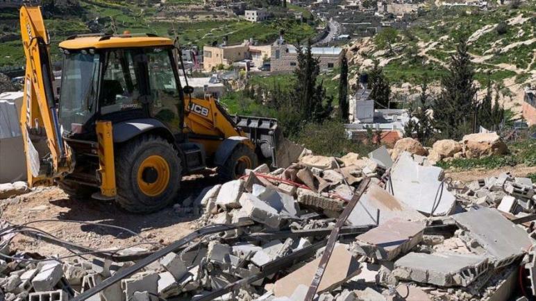 فلسطين تدين بشدة مخطط الكيان الإسرائيلي لهدم 60 بناء في القدس المحتلة