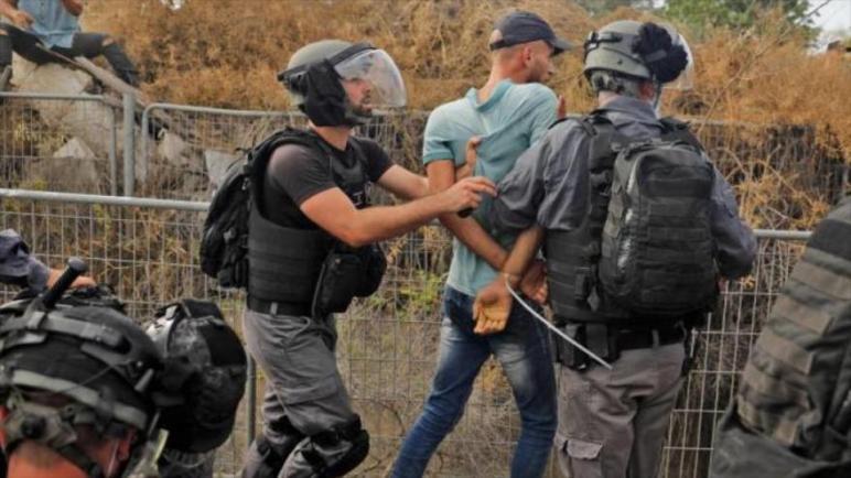 الكيان الإسرائيلي يعتقل 41 فلسطينياً خلال يوم واحد في الضفة الغربية المحتلة