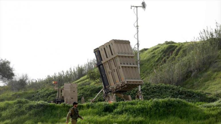الكيان الإسرائيلي ينصب قبة حديدية في تل أبيب بعد تهديدات سوريا بمهاجمة مطار بن غوريون