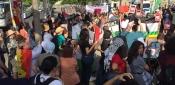 هيئة المؤسسات والجمعيّات الفلسطينية والعربية في برلين تشارك في مظاهرة مؤيدة لـ BDS