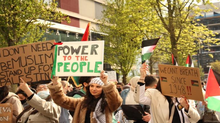 بيان صحفي: مؤتمر فلسطينيي أوروبا يدعو لتكثيف التظاهر والتضامن مع قطاع غزة والقدس