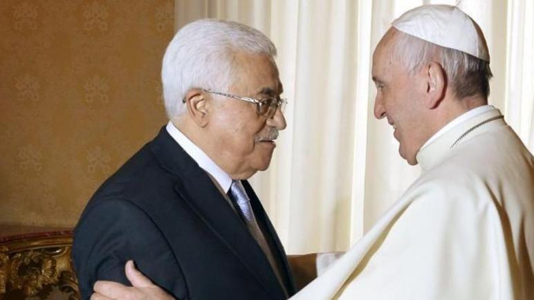 بعد استقبال البابا فرنسيس رئيس اسرائيل في إيطاليا سيستقبل غدا الرئيس الفلسطيني أبو مازن