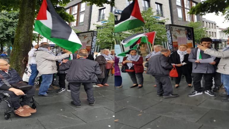 مظاهرة حاشدة في جنوب النرويج ضد مشروع الضم الإسرائيلي