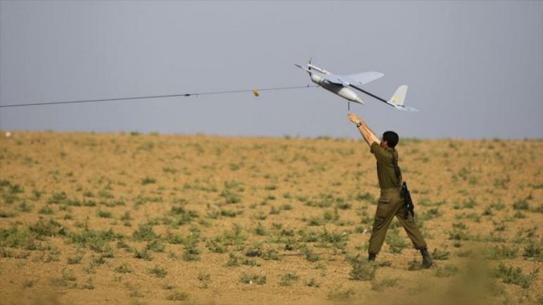 المقاومة الفلسطينية تسقط طائرة استطلاع اسرائيلية بدون طيار في قطاع غزة