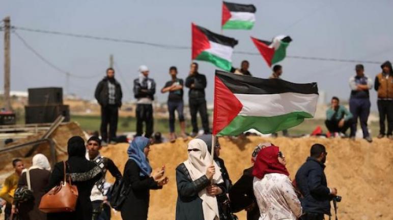 مركز حقوقي: الاحتلال الاسرائيلي قتل 22 فلسطينيا في مسيرات العودة خلال أيلول الماضي