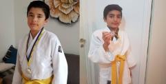 طفلان فلسطينيان يحصدان فضيتين في بطولة للجودو جنوبي السويد