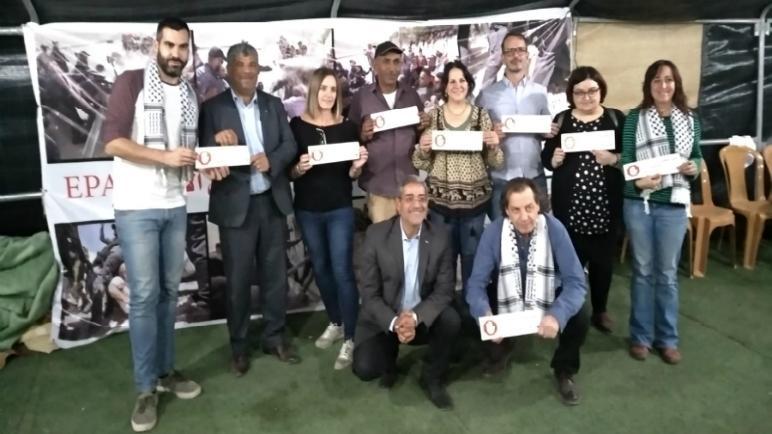 وفد اسباني سياسي واجتماعي ونقابي يزور فلسطين في الفترة من 2 إلى 6 نوفمبر