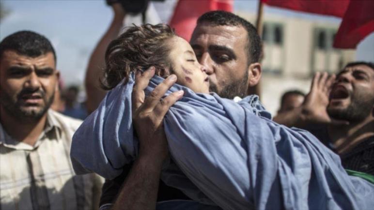 جنود الكيان الإسرائيلي قتلوا ما مجموعه 52 طفل في العام 2018