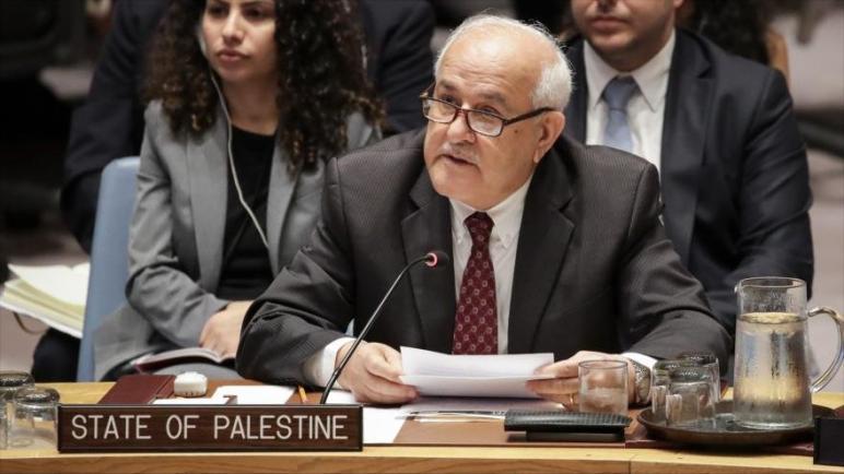 فلسطين للأمم المتحدة: إلى متى سيتم التعامل مع إسرائيل كدولة فوق القانون ومتى سيتحمل المجتمع الدولي مسؤولياته؟