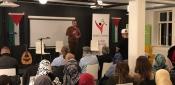 احياء فعاليات اليوم العالمي للتضامن مع فلسطين في مالمو السويدية