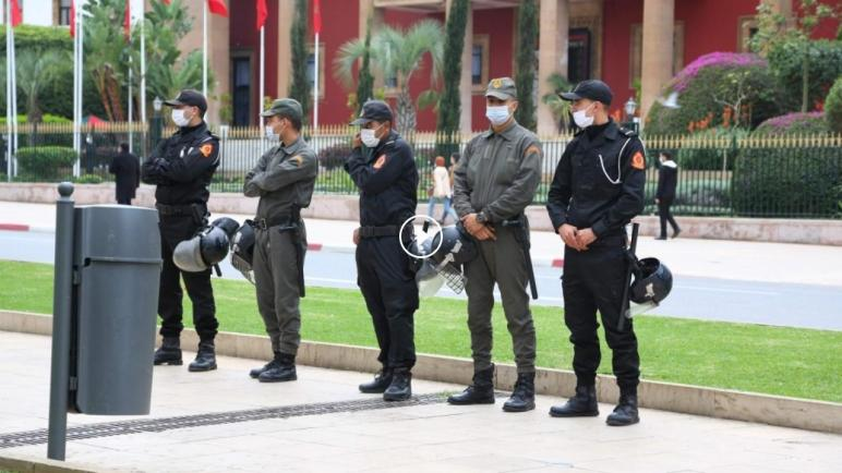 السلطات في الرباط تمنع خروج مظاهرات مؤيدة للفلسطينيين إحتجاجاً على التطبيع مع الكيان الإسرائيلي
