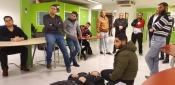 دورة في الاسعافات الأولية نظمها تجمع الشباب الفلسطيني في هولندا