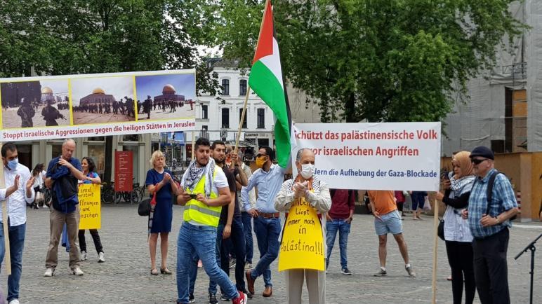 ألمانيا تشهد عدة وقفات منددة بقرار الضم الإسرائيلي للأغوار ومناطق في الضفة المحتلة