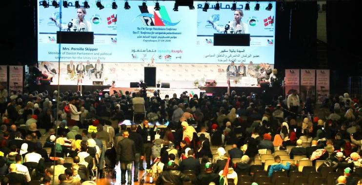 انطلاق فعاليات مؤتمر فلسطينيي أوروبا السابع عشر في الدنمارك