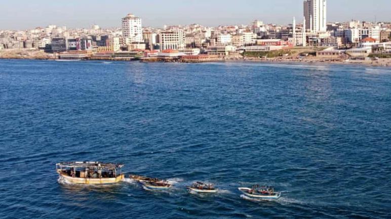طائرة مسيرة للكيان الإسرائيلي هي من فجرت قارب الصيادين الثلاثة وأودت بحياتهم قبالة سواحل غزة