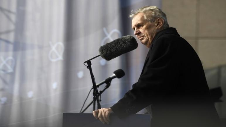 الرئيس التشيكي زيمان يفتتح بيت التشيك في القدس ويعد بنقل السفارة قريبا إليها