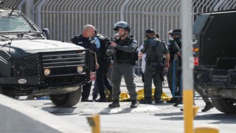 استشهاد امرأة فلسطينية برصاص شرطة الكيان الإسرائيلي الذي زعم أنها كانت تحمل سكين
