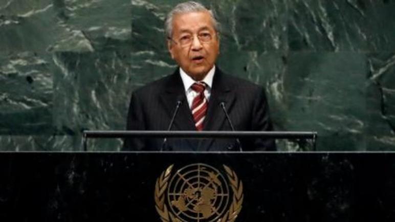 رئيس الوزراء الماليزي مهاتير محمد يهين اليهود